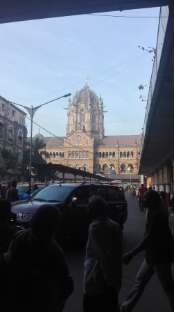 the fantastic Chhatrapati Shivaji Terminus