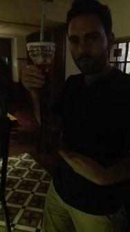 Stevie & his iced tea