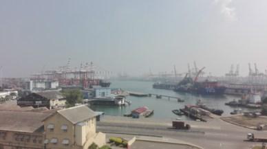 Colombo's massive port