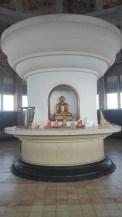 Inside the Sambodhi Chaithya