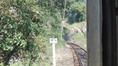 Train from Colombo to Kandy