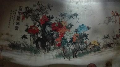 Sam Poh Tong cave mural