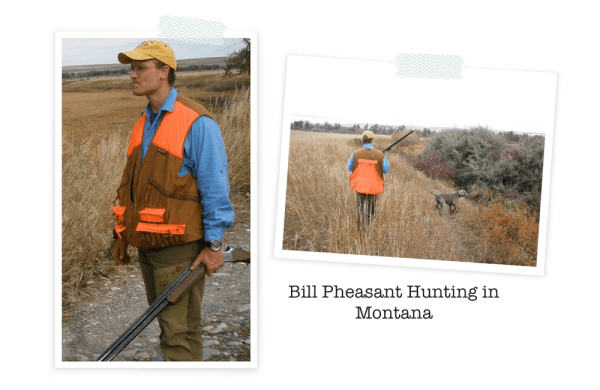 Bill hunting in Montana