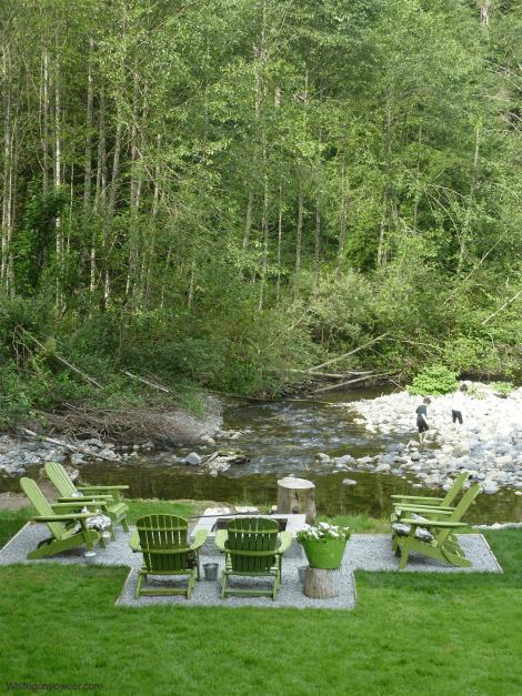 V&R garden - fire pit