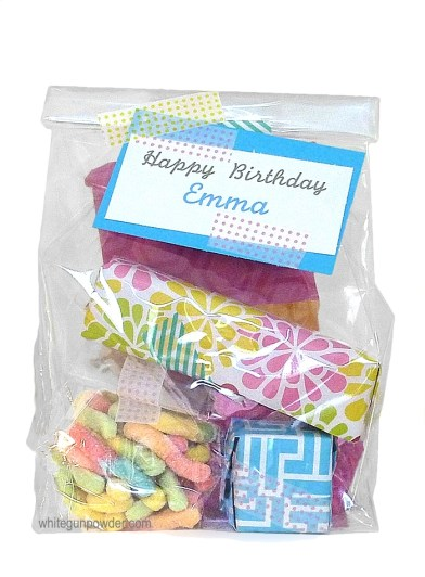 packaging treats & tags