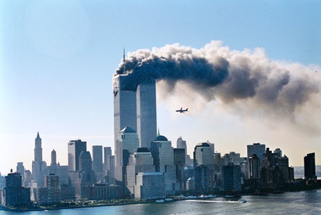 Sept 11 2001, two towers & 2nd plane