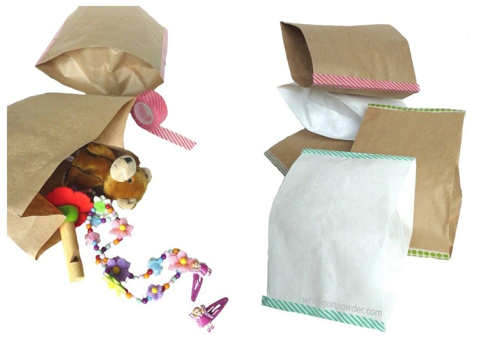 diy paper pillow bags