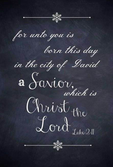 Christmas, Savior born this day