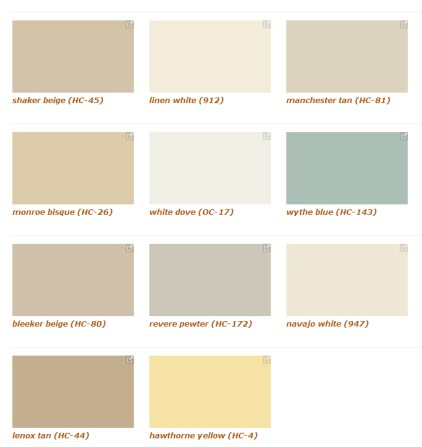 Color trend 2013 Benjamin Moore