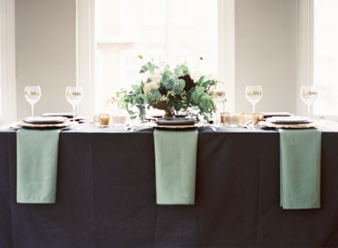 Color trend 2013 table setting