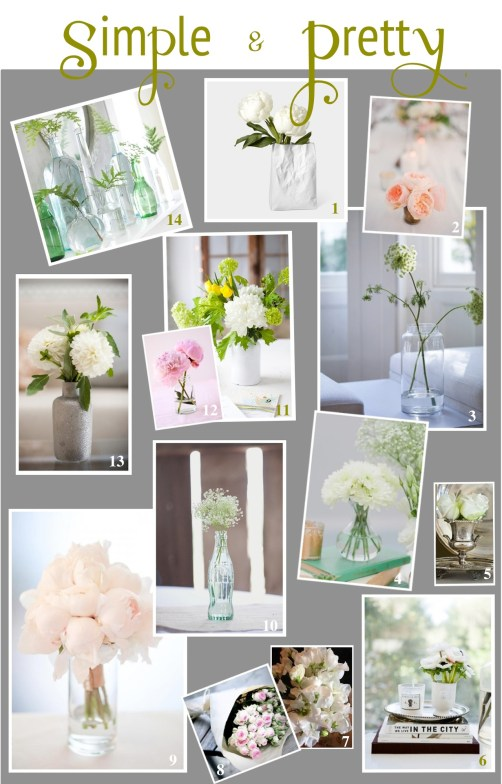 simple flower arrangements