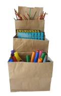 paper bag containers/dividers