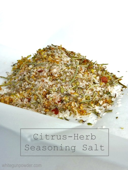 Citrus-Herb Seasoning Salt