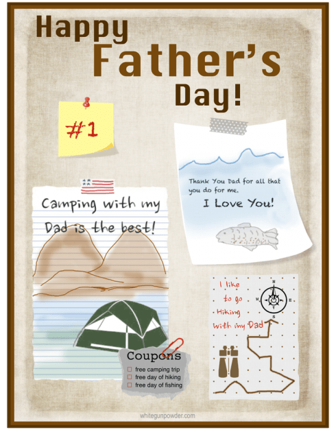 Father's Day bulletin board