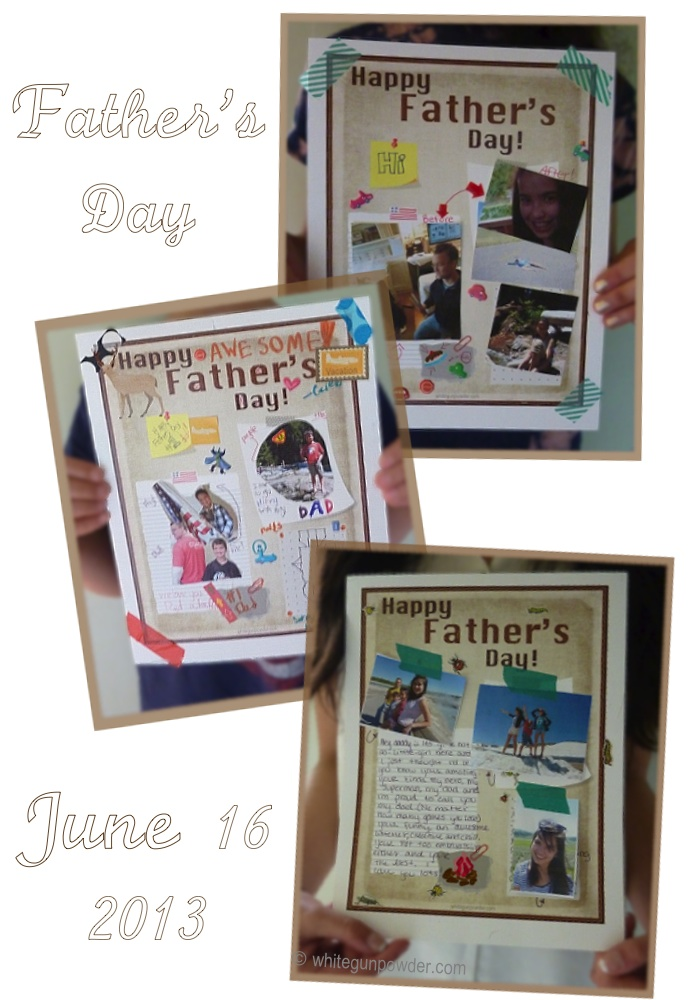 Father's Day mini bulletin boards