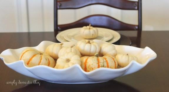Pumpkins, Simply Domestic blog