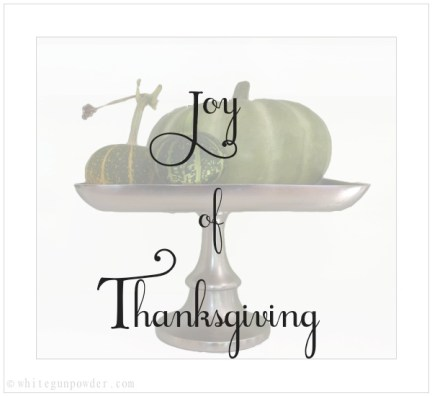 Joy of Thanksgiving