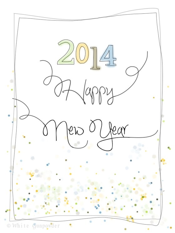 2014, Happy New Year