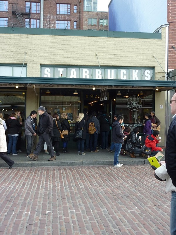 Pike Place Market,  Starbucks