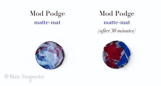 diy  red, white & blue magnets