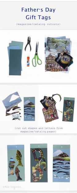 Father's Day, diy gift tags