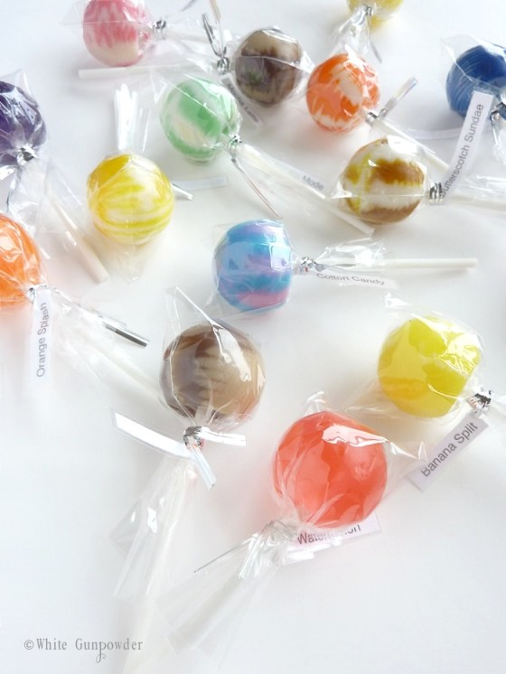 Summer,  sweet lollipops