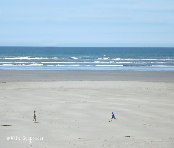 Summer, Sun, Sand, and Salty Air at Seabrook, Washington