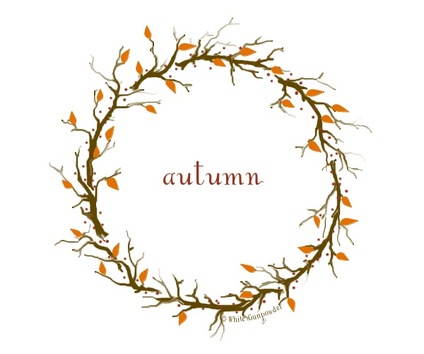 autumn 2014 wreath