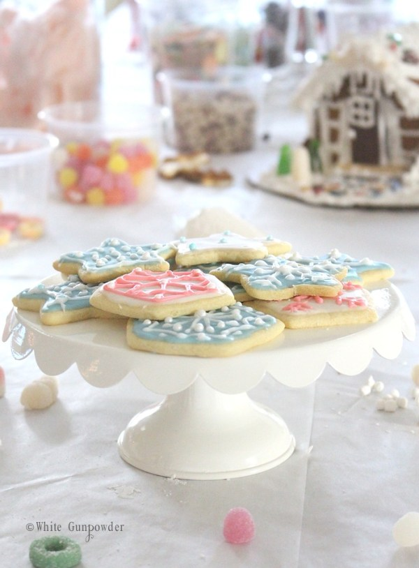 gingerbread houses  & sugar cookies