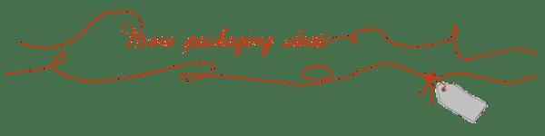 Packaging ideas title