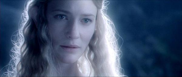 Tolkien, Galadriel- The Lord of the Rings:  the fellowship of the ring