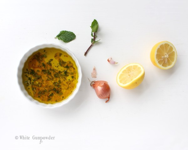 Winter Citrus Salad dressing