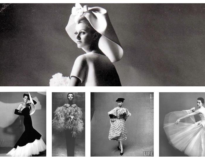 Oscar de la Renta - Cristobal Balenciaga fashion  collections