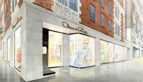 Oscar de la Renta, flagship store New York