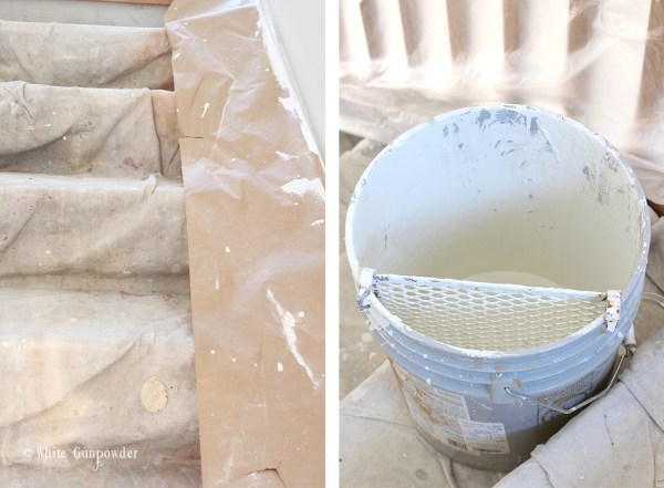 Paint, oyster white