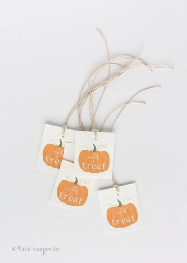 Halloween pumpkin- printable tags -small-2