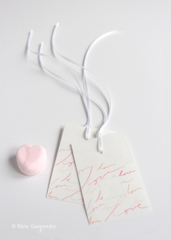 Valentine's day, treats - tags
