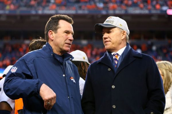 Denver Broncos Elway & Kubiak-2
