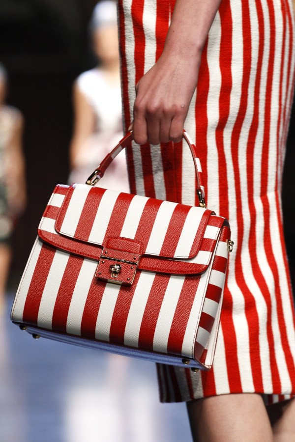 Fashion-stripes,Dolce Gabbana Spring 2016 wh1000