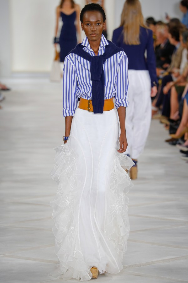 Fashion-stripes, Ralph Lauren spring 2016-2