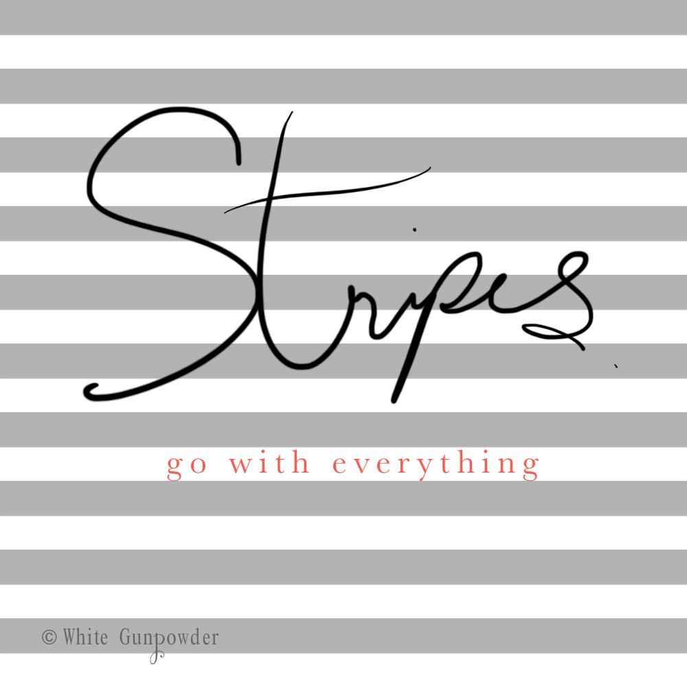 Stripesu2026 Spring / Summer 2016 - White Gunpowder