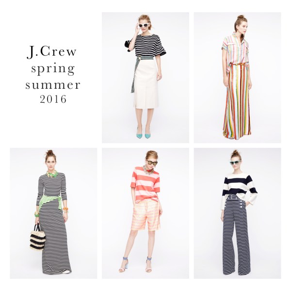 Fashion-stripes, j crew spring 2016