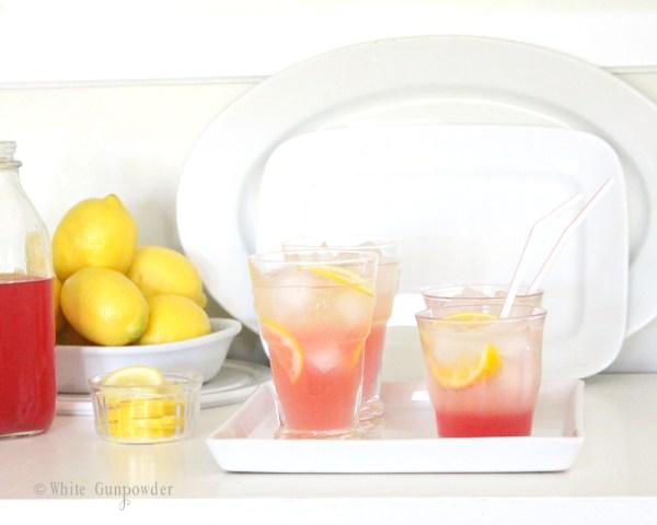 Rhubarb beverages - compote