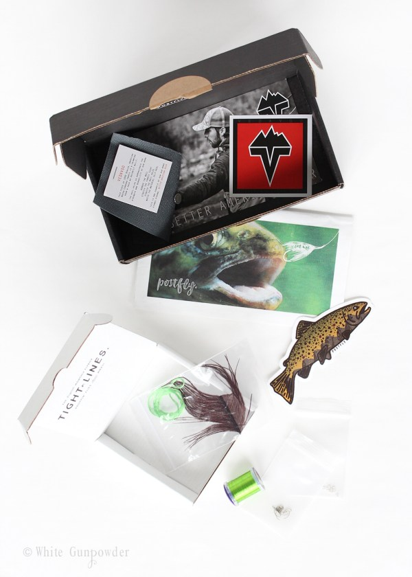 Postfly Box, Father's Day gift -1white gunpowder