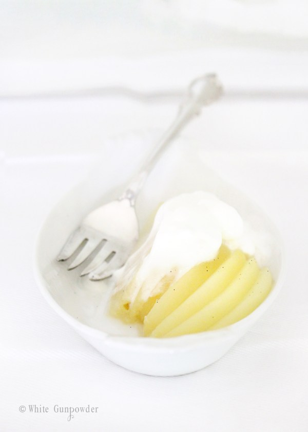 recipe-poached pears