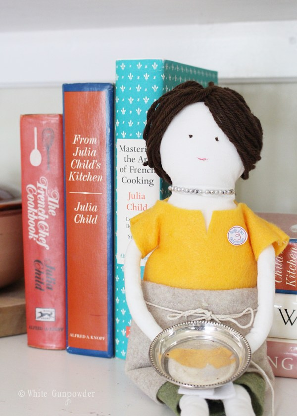 Julia Child cookbooks