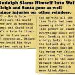Poor, poor Rudolph…