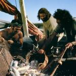 Fishing with Jesus simply follow HIM and call in other boats to help.