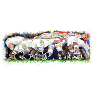 The English Scrum - Leanne Gilroy - Limited Edition