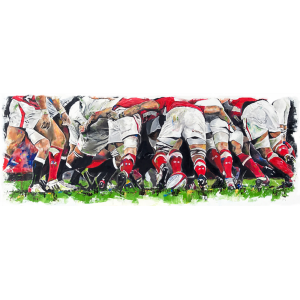 The Welsh Scrum - Leanne Gilroy - Limited Edition